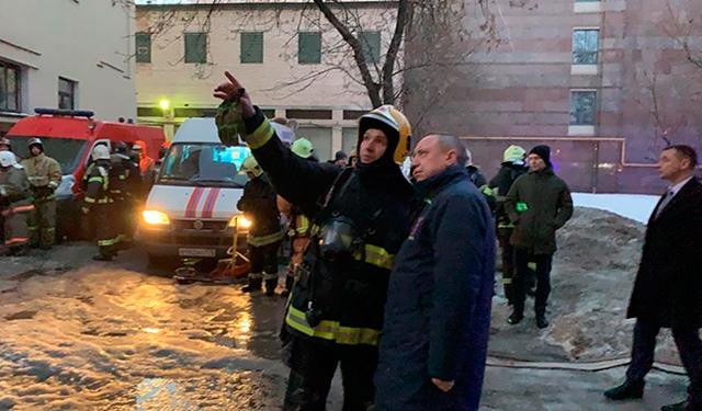 Обрушение крыши и перекрытий в университете Санкт-Петербурга: уточненная информация