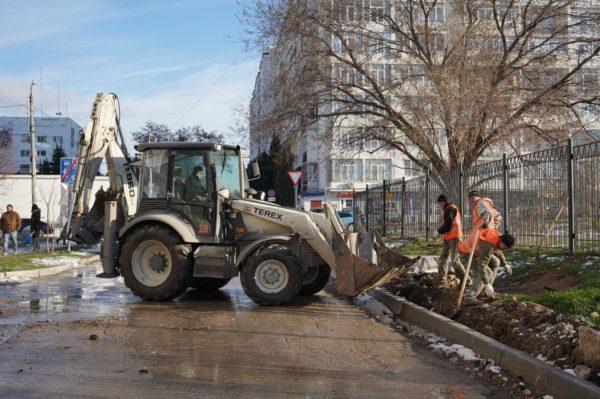 К концу апреля в Севастополе отремонтируют еще две улицы