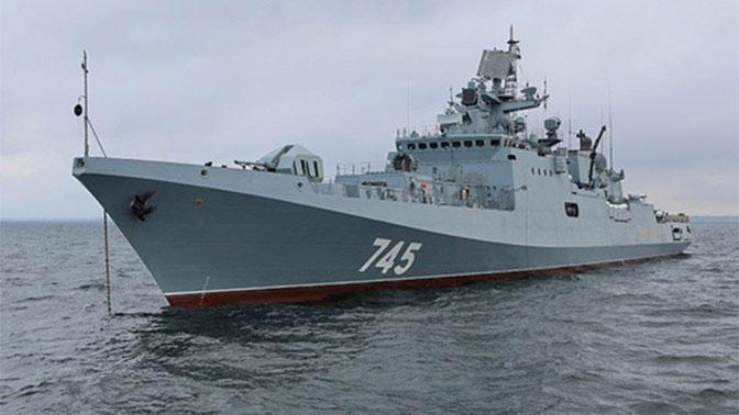 В Севастополе на фрегате «Адмирал Григорович» погиб военнослужащий