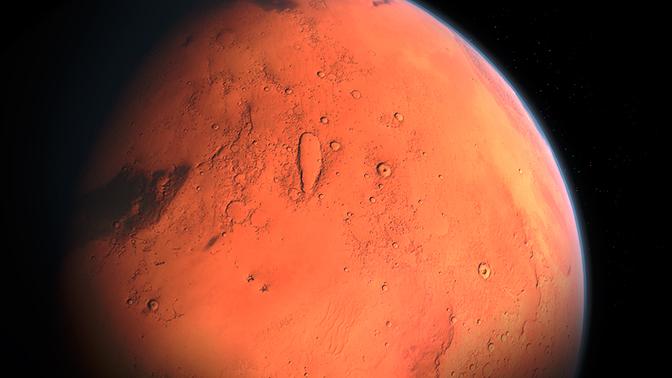 Марсоход NASA сфотографировал на Марсе «мумию» гуманоида