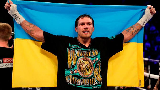Стал известен первый соперник Александра Усика в супертяжелом весе