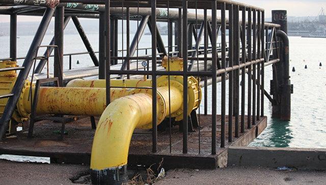 В Севастополе планируют «переложить» газовый дюкер через бухту