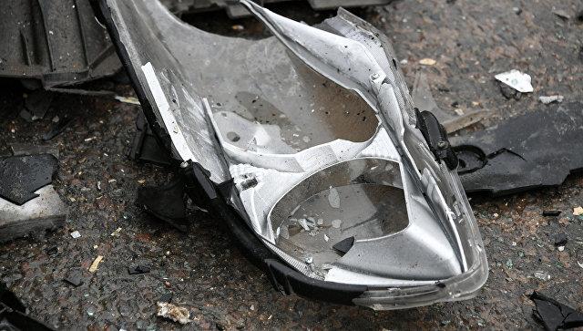В Крыму на автобусной остановке произошла авария: есть пострадавшие