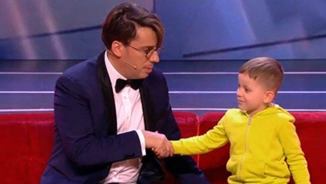 Четырёхлетний мальчик из Евпатории стал звездой шоу на «Первом канале»