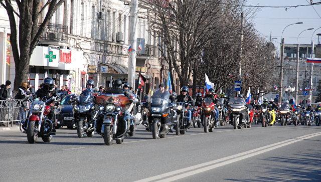 В Крыму стартовал масштабный автомотопробег, приуроченный к пятой годовщине «Крымской весны»