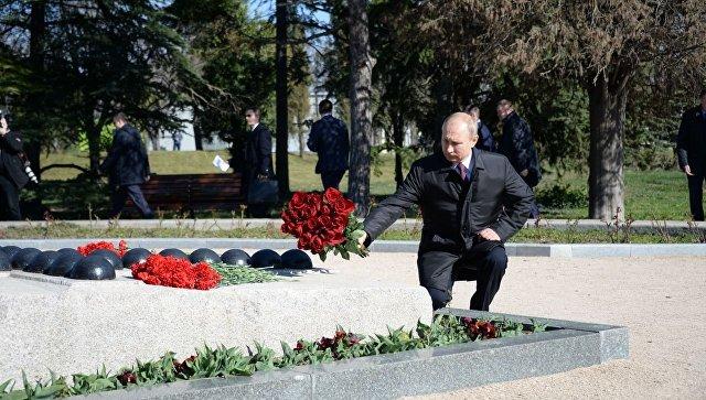 Владимир Путин посетил Малахов курган и пообщался с ветеранами