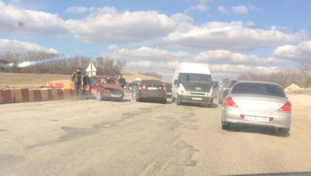ДТП на крымской трассе собрало 10-километровую пробку