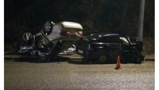 Один погиб, трое в больнице: подробности жуткой аварии с «перевертышем» под Симферополем