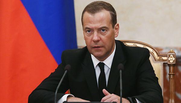 Медведев назвал условия сохранения транзита газа через Украину