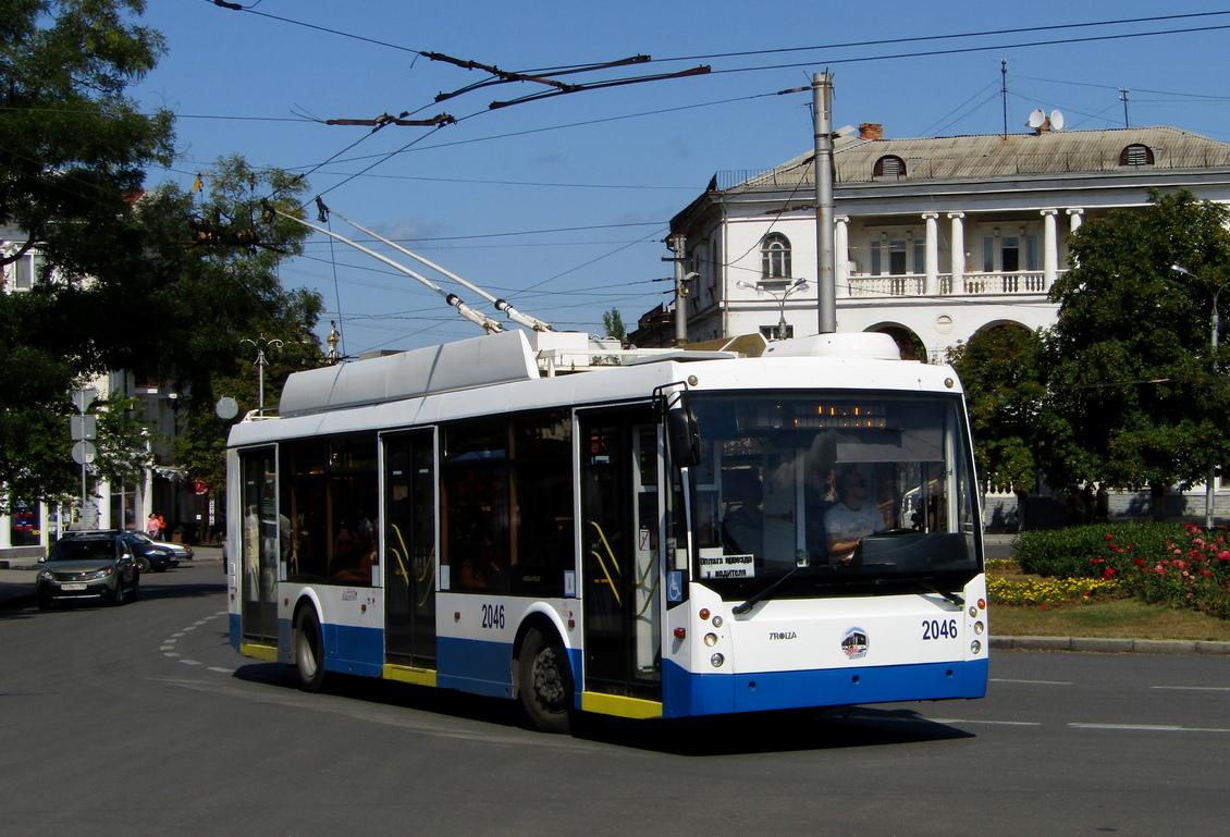В Севастополе временно приостановят работу четыре троллейбусных маршрута