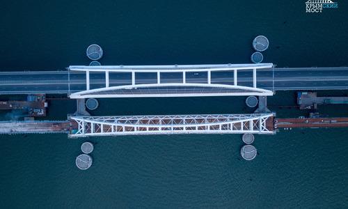 Крымский мост засветится цветами триколора