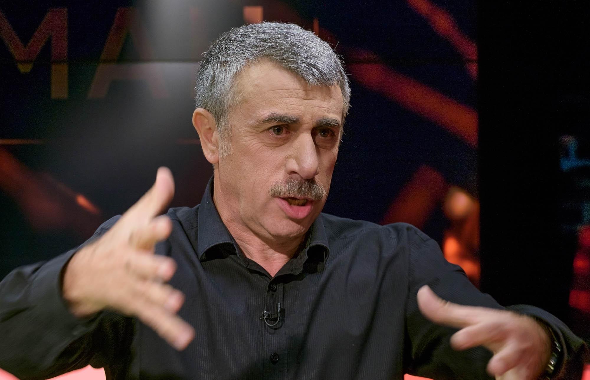 Доктор Комаровский поставил «диагноз» украинской власти