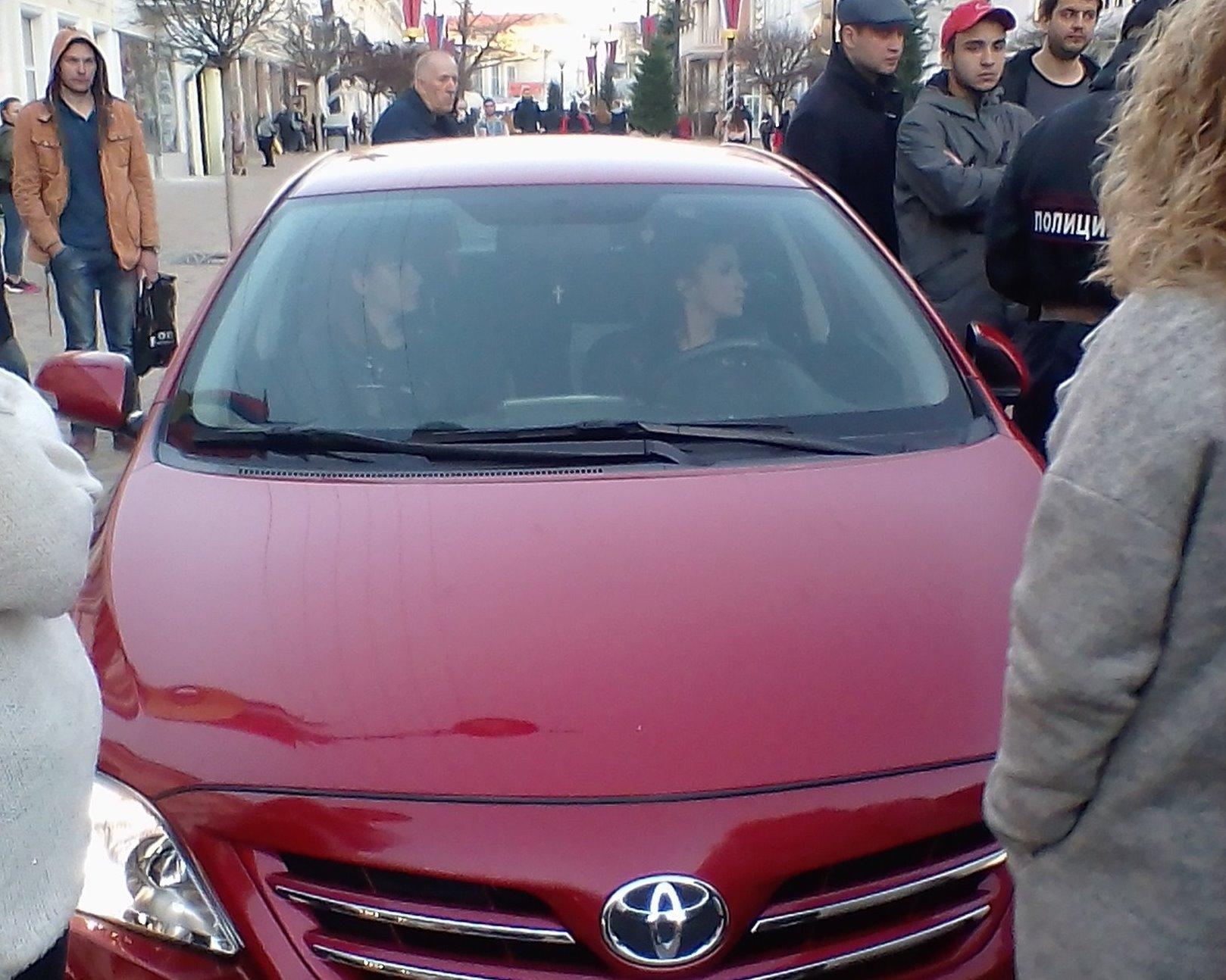 Сбившая на пешеходной зоне в Симферополе кота женщина написала заявление о порче машины