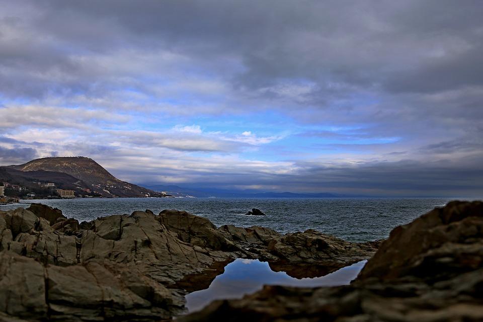 Атмосферный фронт принес дожди в Крым (прогноз погоды на 17-19 марта)