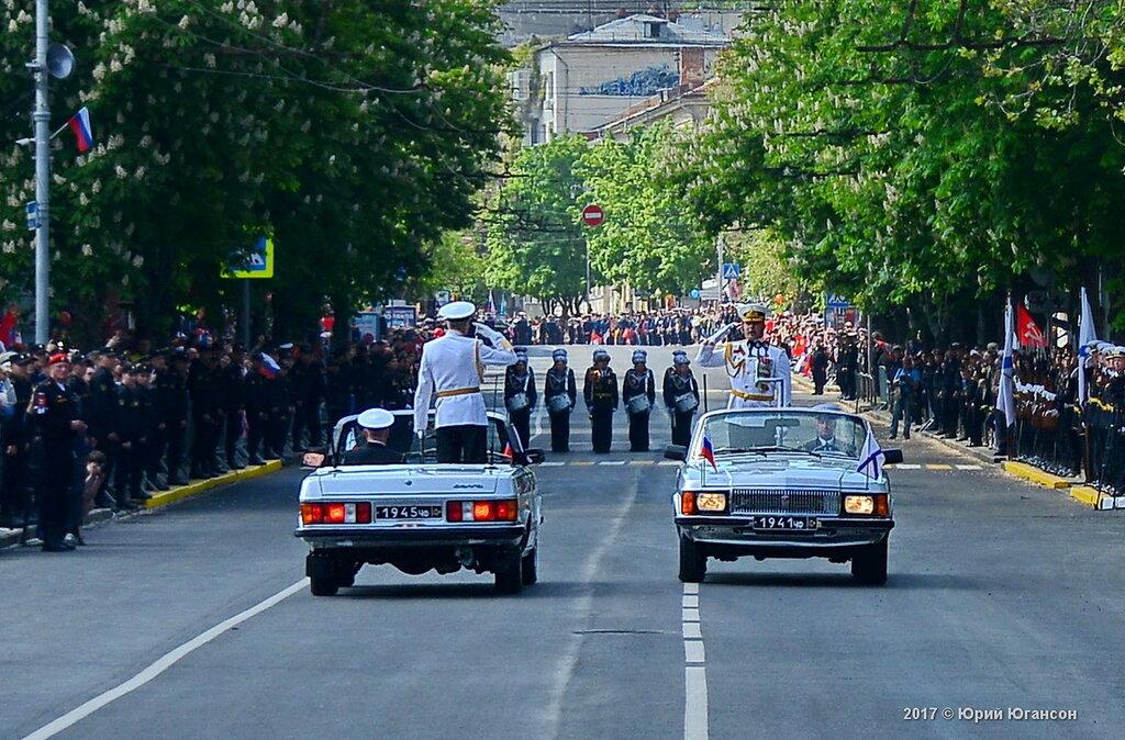 Черноморский флот начал готовиться к параду Победы в Севастополе