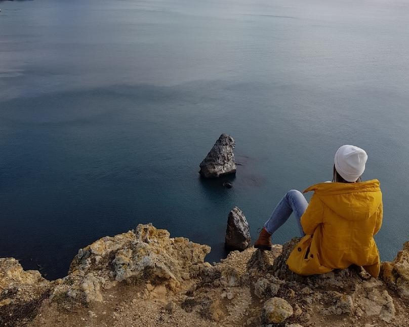 Блог путешественника по Крыму: скалы Орест и Пилад на Фиоленте