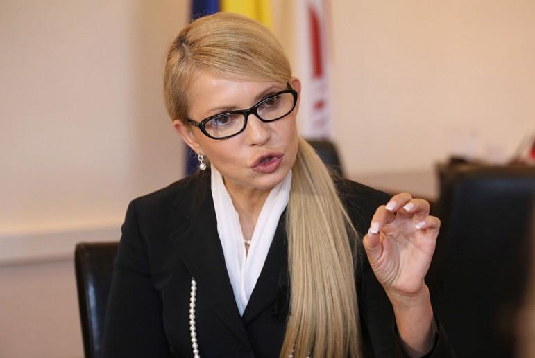 Тимошенко рассказала о своих планах на Крым