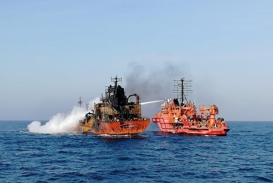 Пропавших моряков со горевших возле Керчи морских танкеров признают погибшими