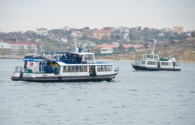 Сегодня в Севастополе изменится схема движения катеров