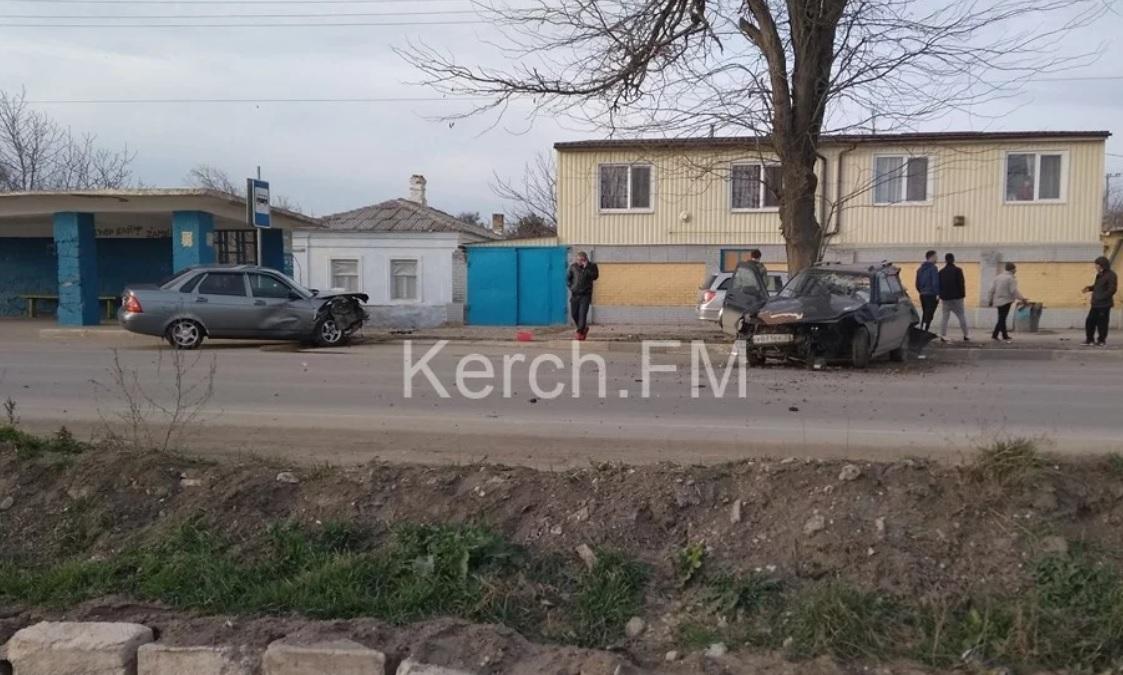 Массовое ДТП в Керчи: один водитель сбежал