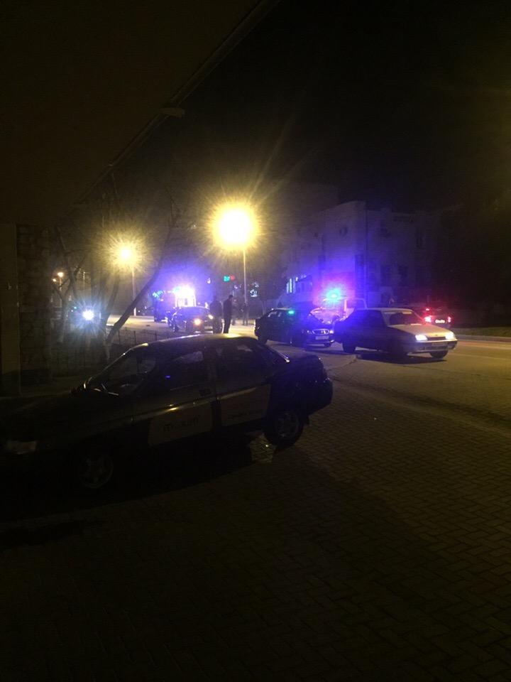 Ночью в Севастополе «Ягуар» сбил человека