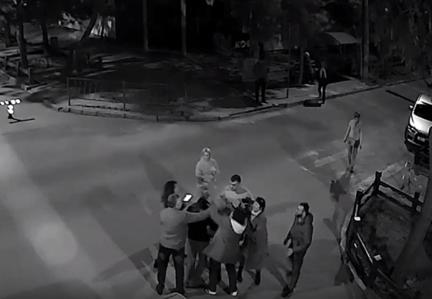 Жестокое избиение пенсионера в Евпатории попало на видео