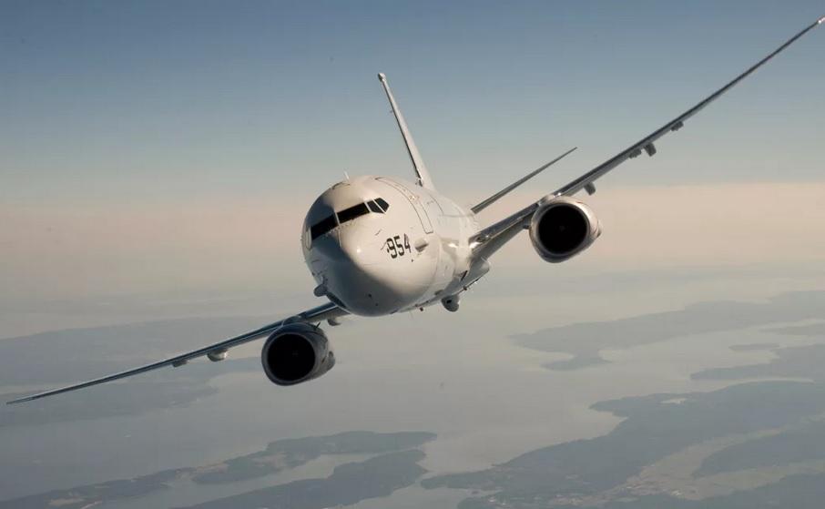 Американский самолет пролетел в районе Севастополя