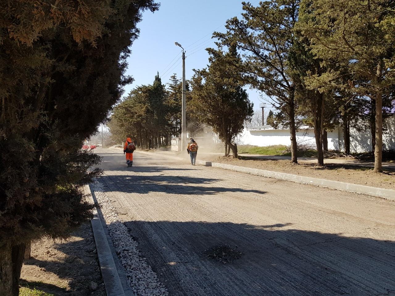 На многострадальной дороге в Севастополе начался ремонт – движение перекрыто