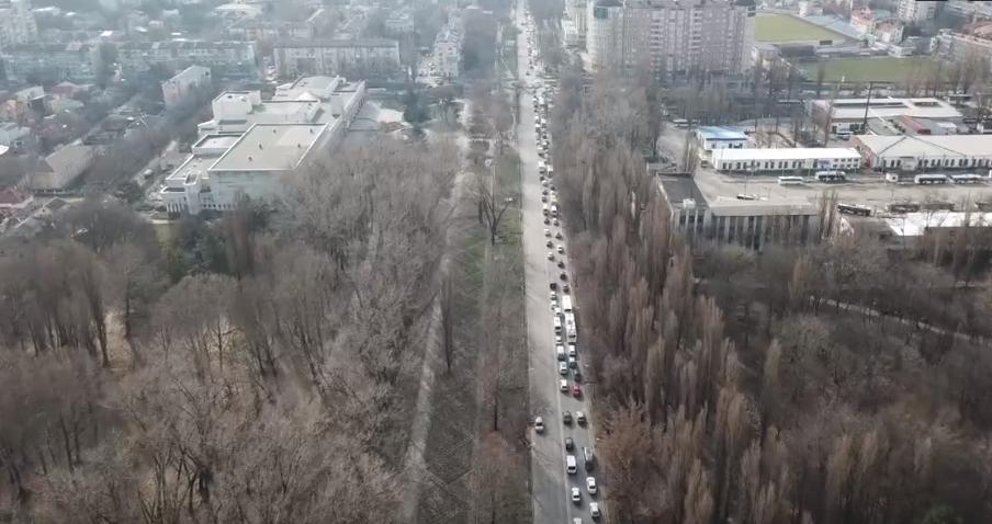 пробки в Симферополе