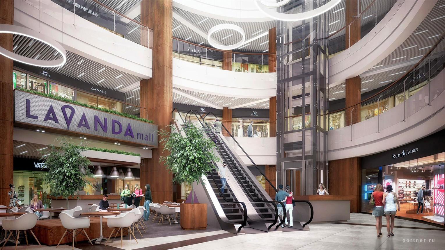 «Скоро открытие!»: в Сети появились новые фотографии торгового центра «Lavanda Mall»