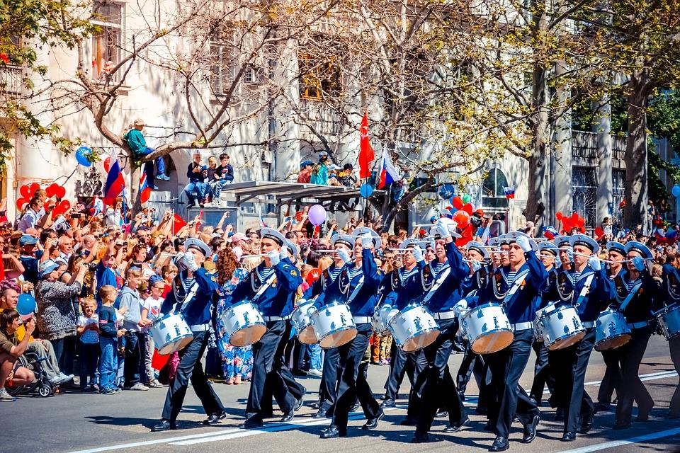 Военнослужащие ЮВО начали тренировки парадов ко Дню Победы
