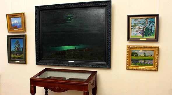 Картину Куинджи вернули из Третьяковской галереи в Крым
