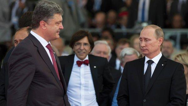 Порошенко назвал условия переговоров с Путиным