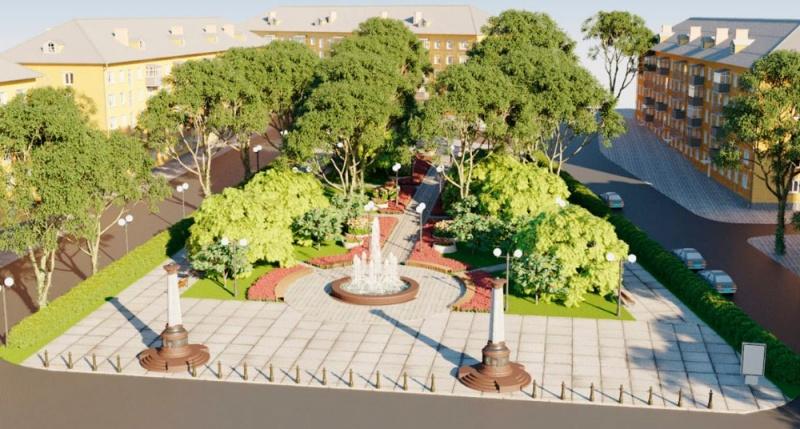 Когда начнется реконструкция сквера на площади Захарова