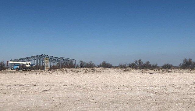 Креветочную ферму на пляже в Сакском районе запретили строить