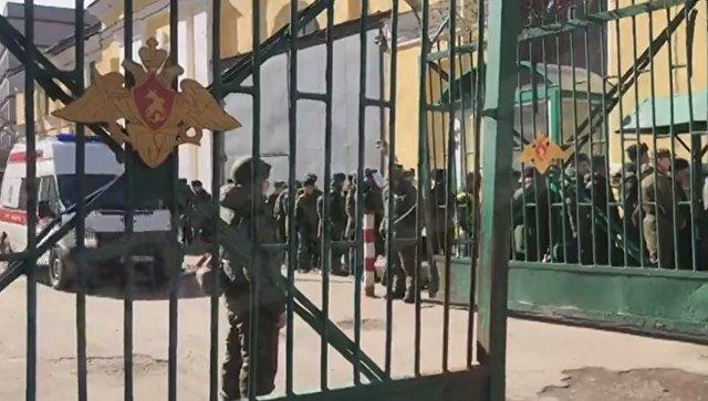 В Минобороны рассказали о взрыве в военной академии в Санкт-Петербурге