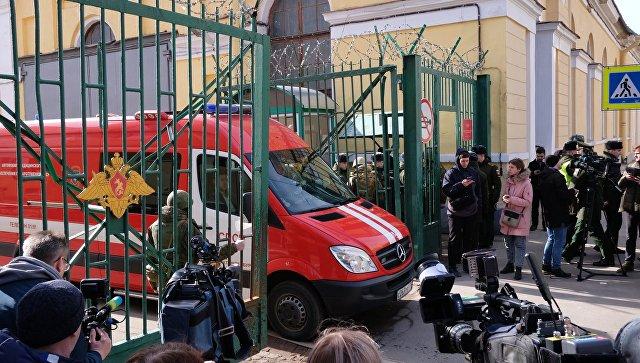 СК возбудил дело о покушении на убийство после взрыва в академии Санкт-Петербурга