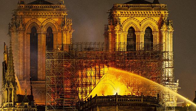 Что погибло и что удалось спасти после пожара в соборе Парижской Богоматери