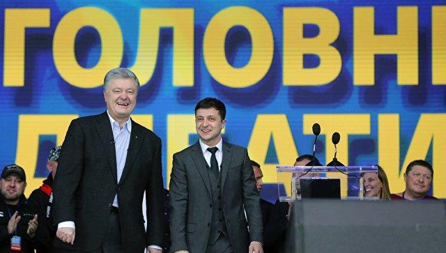 «Бесплатный цирк»: глава Крыма о дебатах Порошенко и Зеленского