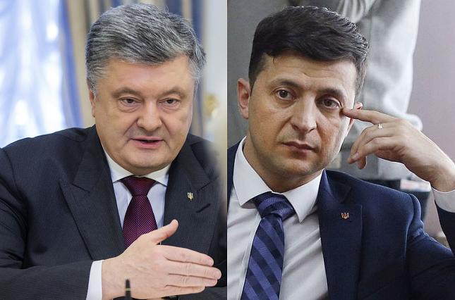 В ЦИК потребовали устроить дебаты Порошенко и Зеленского в телестудии