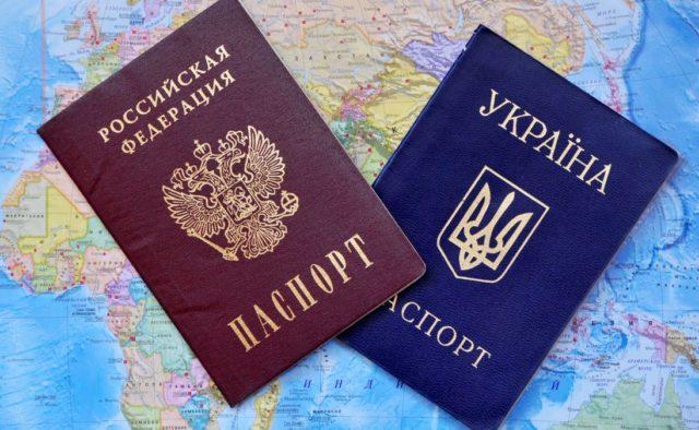 украинцев в Россию