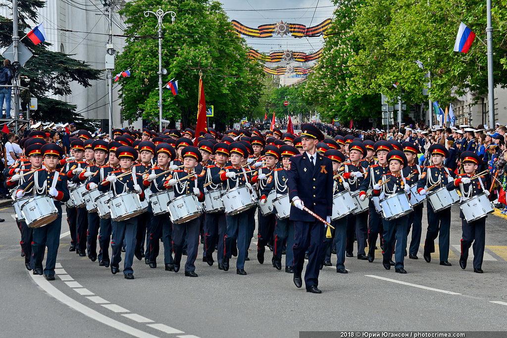 В Севастополе началась подготовка к параду, посвященному Дню Победы