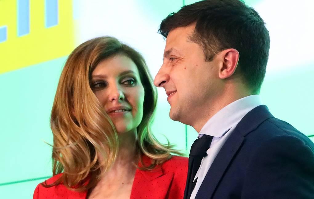 Жена Зеленского попала в списки украинского сайта «Миротворец»