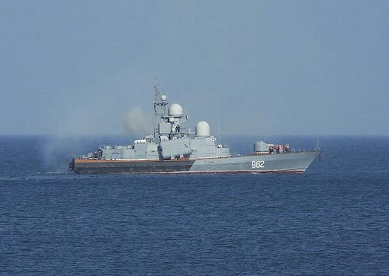 Корабли ЧФ вышли из пункта базирования для усиления группировки в море
