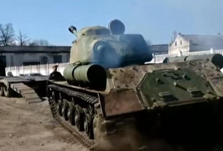 В параде Победы в Севастополе примет участие танк ИС-2 времён ВОВ