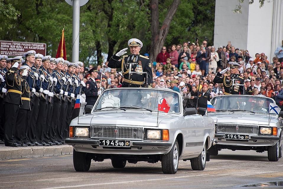 Репетиции Парада Победы в Севастополе: когда и во сколько