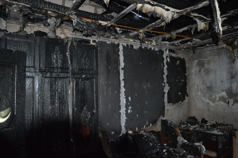 Под Севастополем произошел пожар