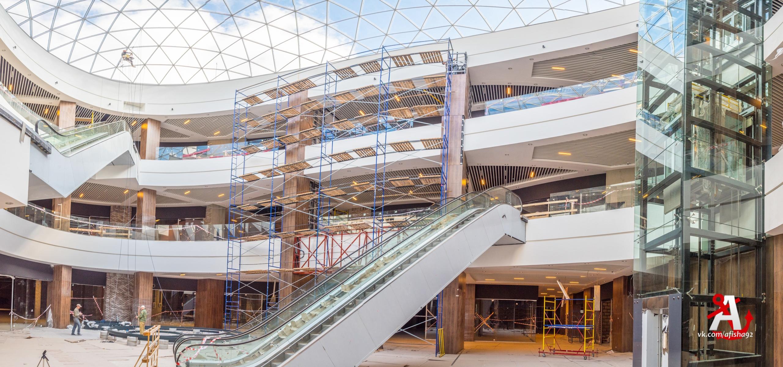 Когда будут открыты первые магазины в новом ТЦ «Лаванда Mall»