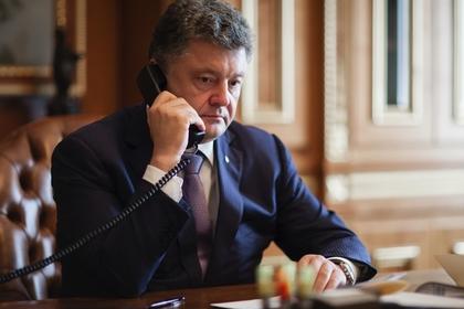 Порошенко созвонился с Вашингтоном и пожаловался на Зеленского