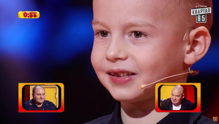 Пятилетний мальчик получил 50 тысяч за шутку про Зеленского